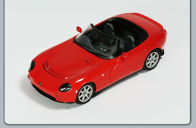 Spark: TVR Tamora - Red (SPTR10) in 1:43 scale