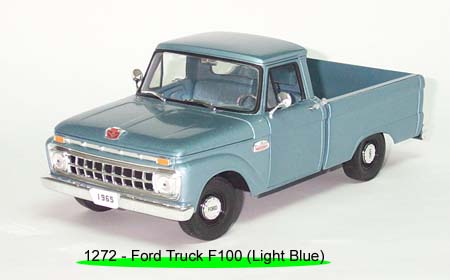 Sun Star: 1965 Ford F-100 Pick Up Styleside - Marlin Blue (1272) in 1:18 scale