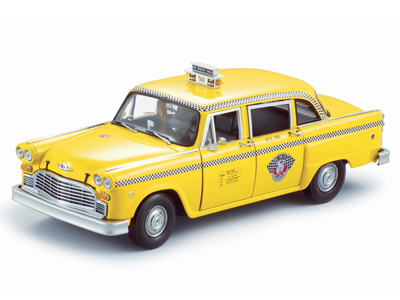 Sun Star: 1981 Checker A11 - New New York Cab (2501) in 1:18 scale