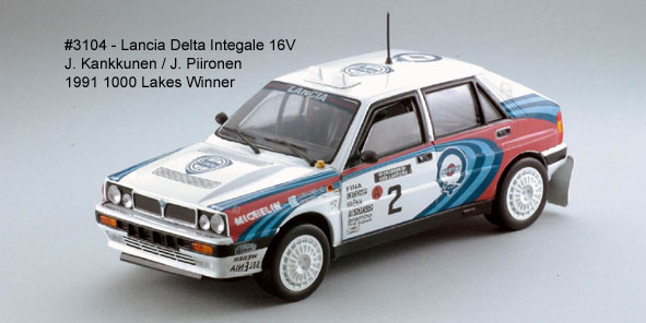 Sun Star: 1990 Lancia Delta HF - Martini Racing (3104) в 1:18 масштабе