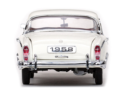 Sun Star: 1958 Mercedes-Benz 220SE Coupe - Ivory (3562) in 1:18 scale