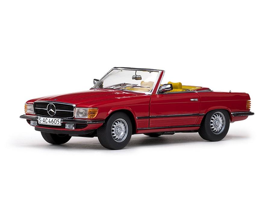 Sun star 1977 mercedes benz 350 sl open convertible for Mercedes benz red convertible