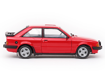 sun star 1983 ford escort xr3i saloon sunburst red 4981 in 1 18 scale mdiecast. Black Bedroom Furniture Sets. Home Design Ideas
