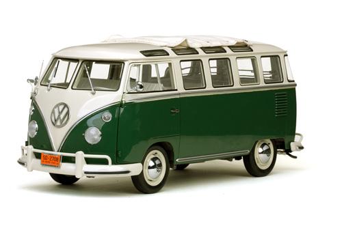 sun star 1962 volkswagen samba bus beige grey velvet. Black Bedroom Furniture Sets. Home Design Ideas