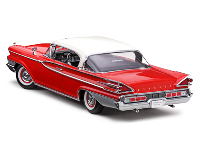 ... Sun Star: 1959 Mercury Parklane Hard Top - White/Red (5161) in ...