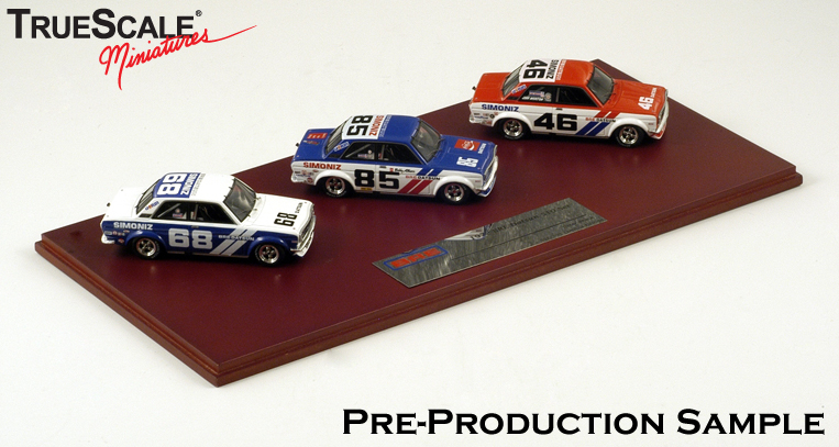 TrueScale Miniatures: 1971 Datsun 510 BRE - Signed by Pete ...