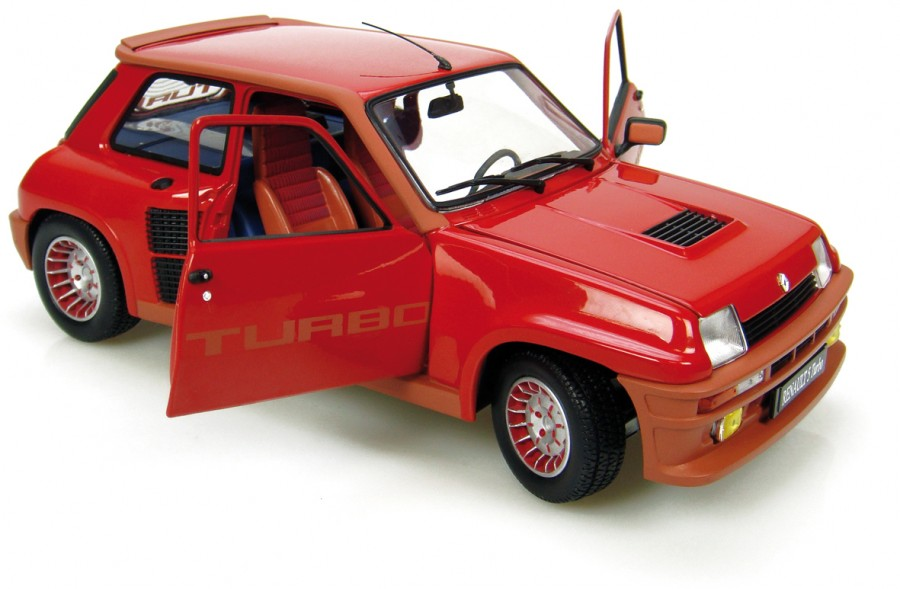 universal hobbies renault 5 turbo red 4520 in 1 18 scale mdiecast. Black Bedroom Furniture Sets. Home Design Ideas