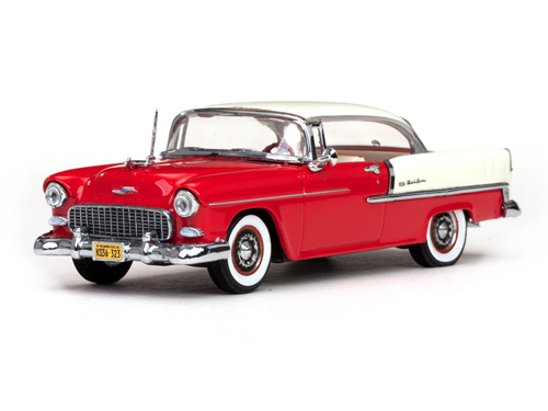 Vitesse: 1955 Chevrolet Bel Air Hard Top - India Ivory