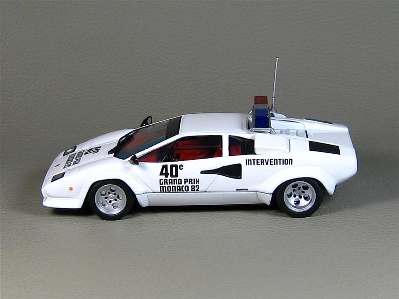 Ixo 1982 Lamborghini Countach 500s Pace Car Monaco Gp