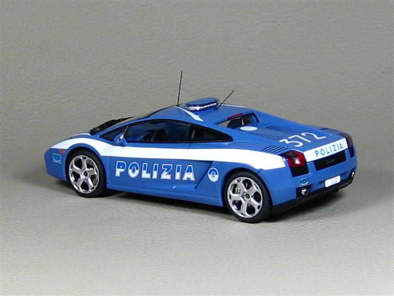 Autoart Lamborghini Gallardo Italian Police Car 54576