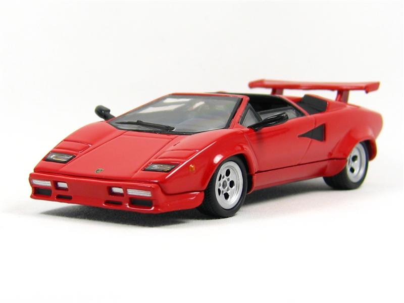 Del Prado: Lamborghini Countach LP400 Targa in 1:43 scale