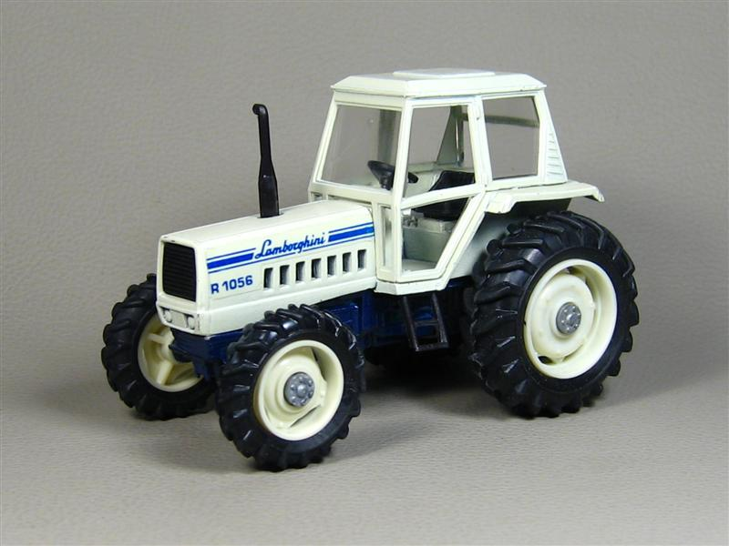 Yaxon: Lamborghini R-1056 Tractor in 1:43 scale . Picture provided by Gennadiy, 2008-12-22 16:49:51