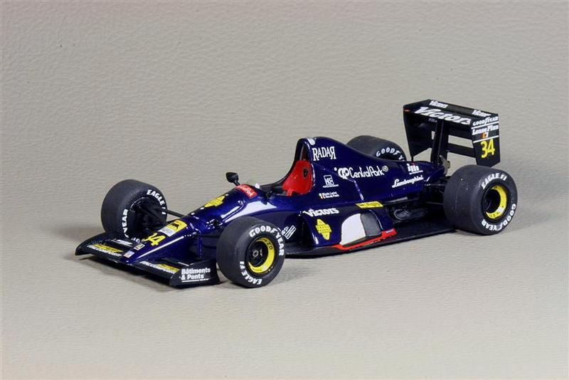 LookSmart Lamborghini F1 291 US Grand Prix 1991 In 143