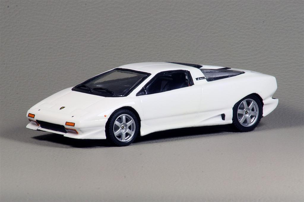 Alezan Lamborghini P140 Prototipo Restored 2008 Version In 1 43 Scale Mdiecast