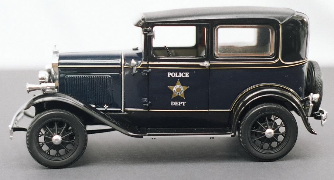 Motor City Classics 1931 Ford Model A Tudor Police Car