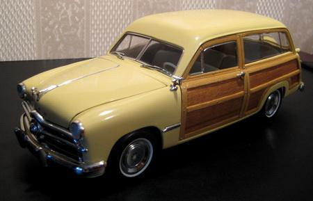 Motor City Classics 1949 Ford Woody Station Wagon Miami