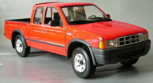 Action: 2000 Ford Ranger European Version (AC8 089100) in 1:18 scale