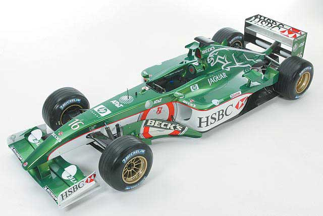 Hot Wheels: 2002 HSBC Jaguar R3 Eddie Irvine #16 (54628 ...