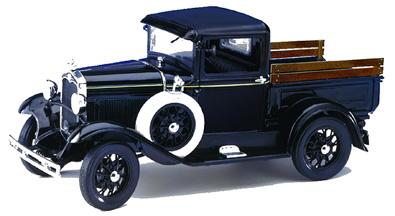 Motor City Classics 1931 Ford Model A Pickup Black