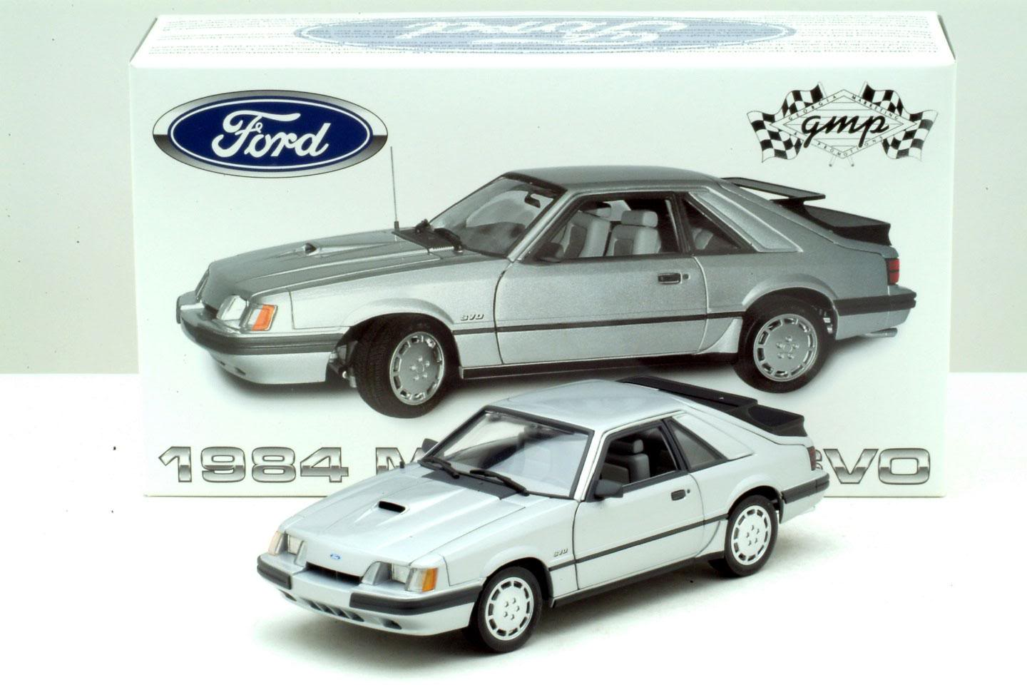 Gmp 1984 Ford Mustang Svo 8062 In 1 18 Scale Mdiecast