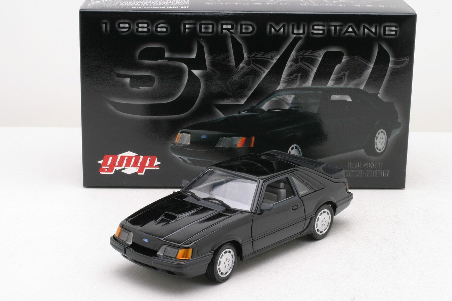 GMP: 1986 Mustang SVO (8064) in 1:18 scale