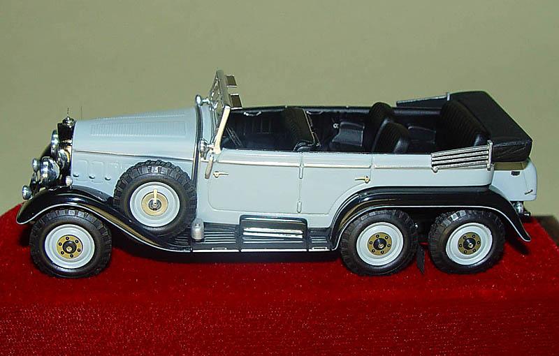EMC: 1933 Mercedes-Benz G4 in 1:43 scale - mDiecast