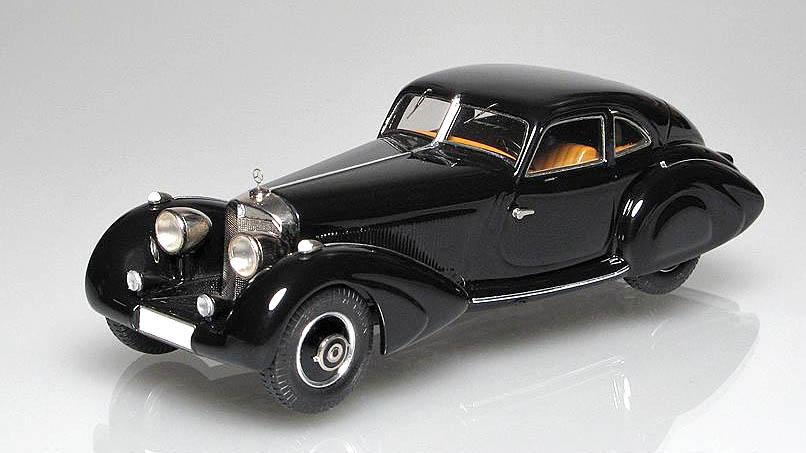 Emc 1936 mercedes benz 500k 39 autobahnkurier 39 im 1 43 for Mercedes benz autobahn