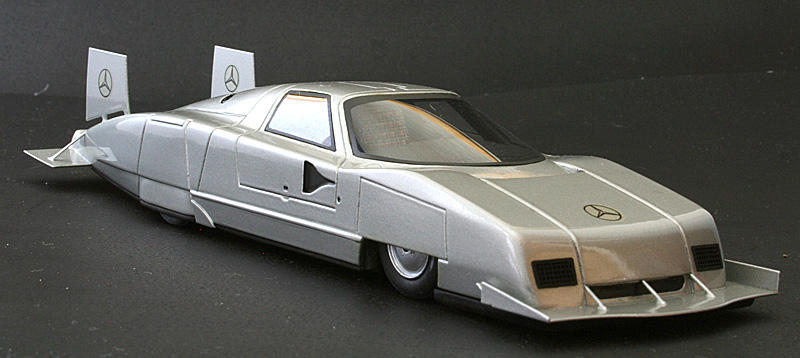 EMC: 1979 Mercedes-Benz C111-IV Rekordwagen in 1:43 scale ...