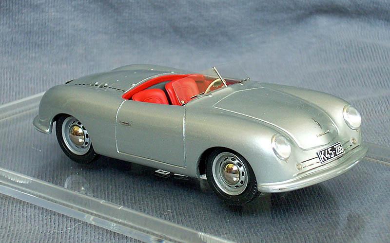 emc 1948 porsche 356 no 1 roadster in 143 scale mdiecast