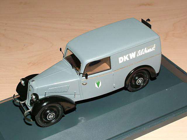 Emc  1937 Dkw F7 Delivery Car In 1 43 Scale
