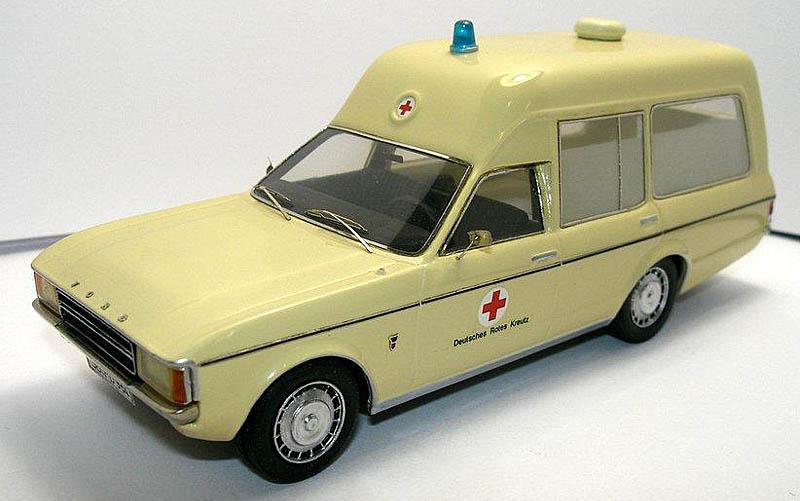 List Of Cars >> EMC: 1973 Ford Granada Ambulance in 1:43 scale - mDiecast