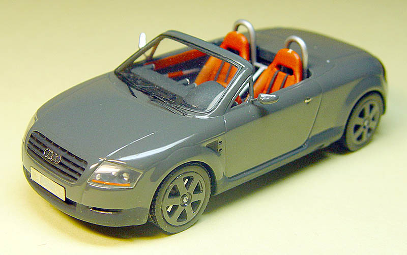 emc 1998 audi tt roadster 8n in 1 43 scale mdiecast. Black Bedroom Furniture Sets. Home Design Ideas