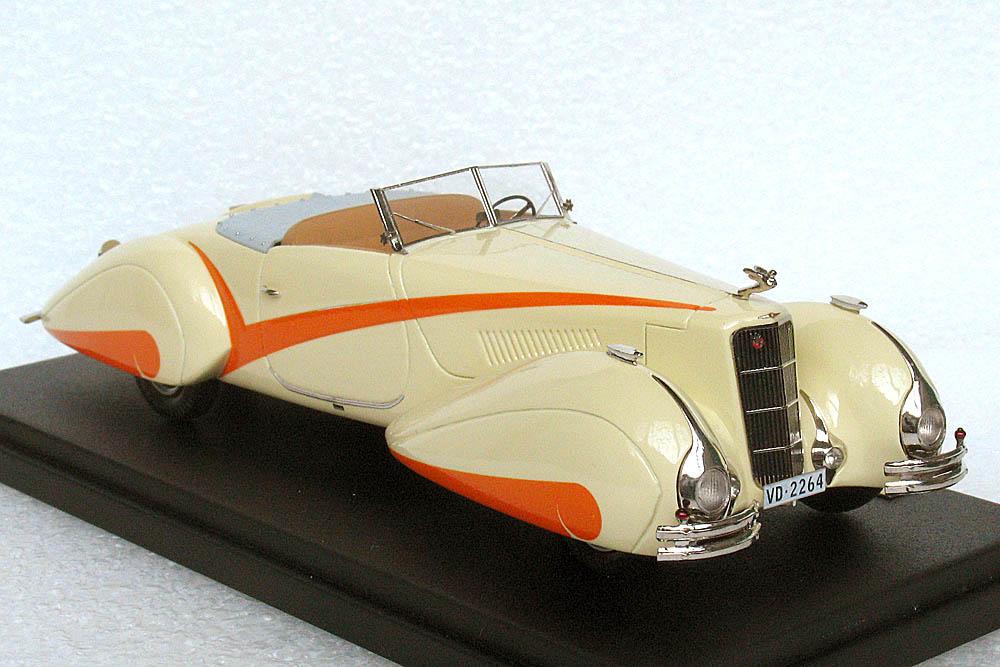EMC 1937 Cadillac V 16 Roadster By Hartmann Original Open