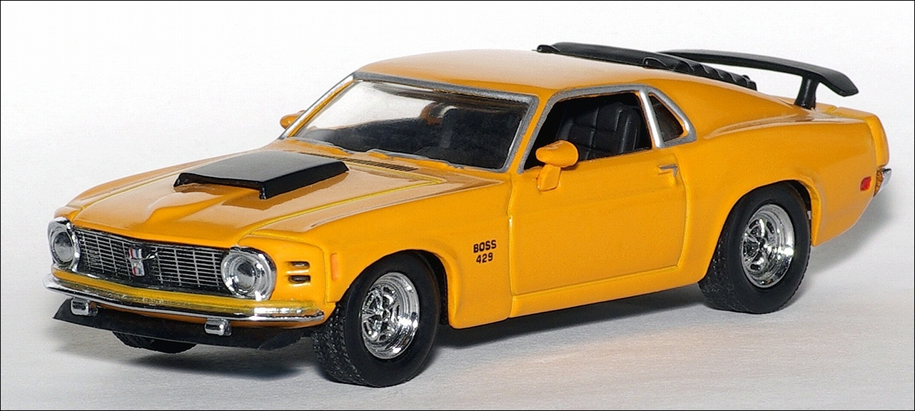 Matchbox: 1970 Ford Mustang Boss 429 (YMC05-M) в 1:43 масштабе