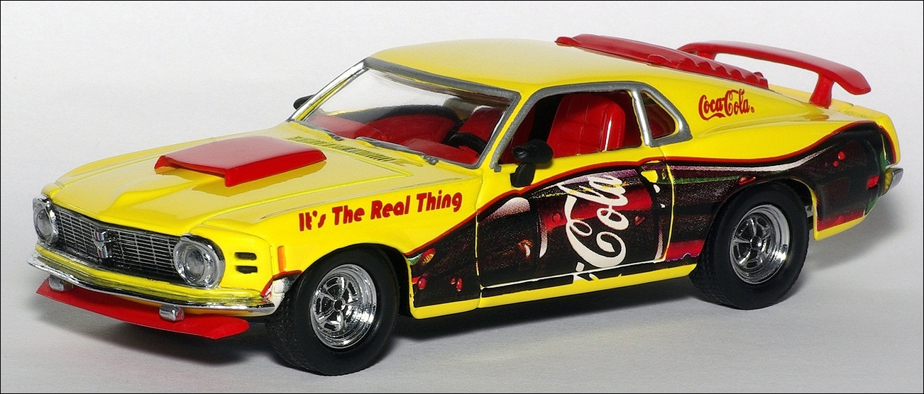 Matchbox: 1970 Ford Boss Mustang (YMC05/B-M) in 1:43 scale