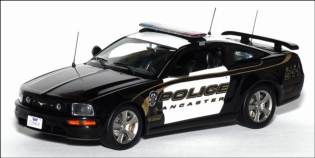 Ixo 2005 Ford Mustang Gt Usa Lancaster Police Black