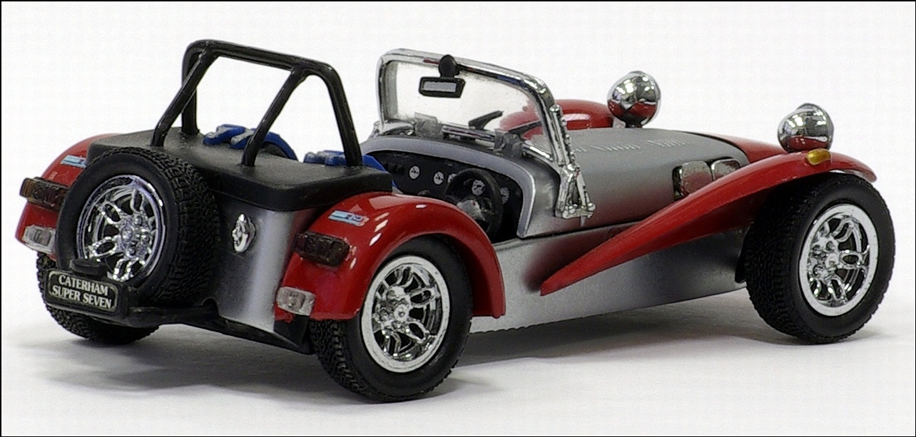 kyosho caterham super seven silver red 03151r in 1 43 scale mdiecast. Black Bedroom Furniture Sets. Home Design Ideas