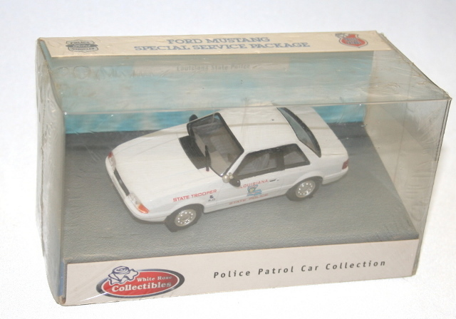 White Rose Collectibles: 1991 Ford Mustang Louisiana State Police (DEDGM99107WIN) в 1:43 масштабе . Фотография предоставлена Natty, 2012-04-28 02:44:29