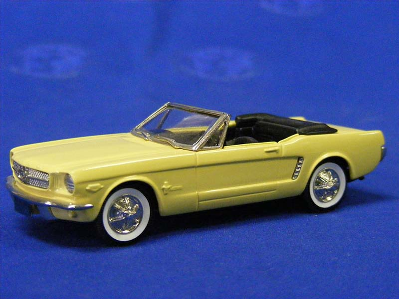 Own Car >> Brooklin: 1965 Ford Mustang Convertible - Yellow (BRK56P) in 1:43 scale - mDiecast