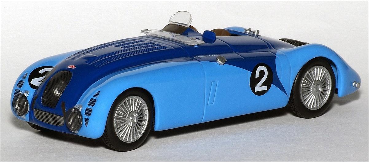 altaya 1937 bugatti 57g blue in 1 43 scale mdiecast. Black Bedroom Furniture Sets. Home Design Ideas