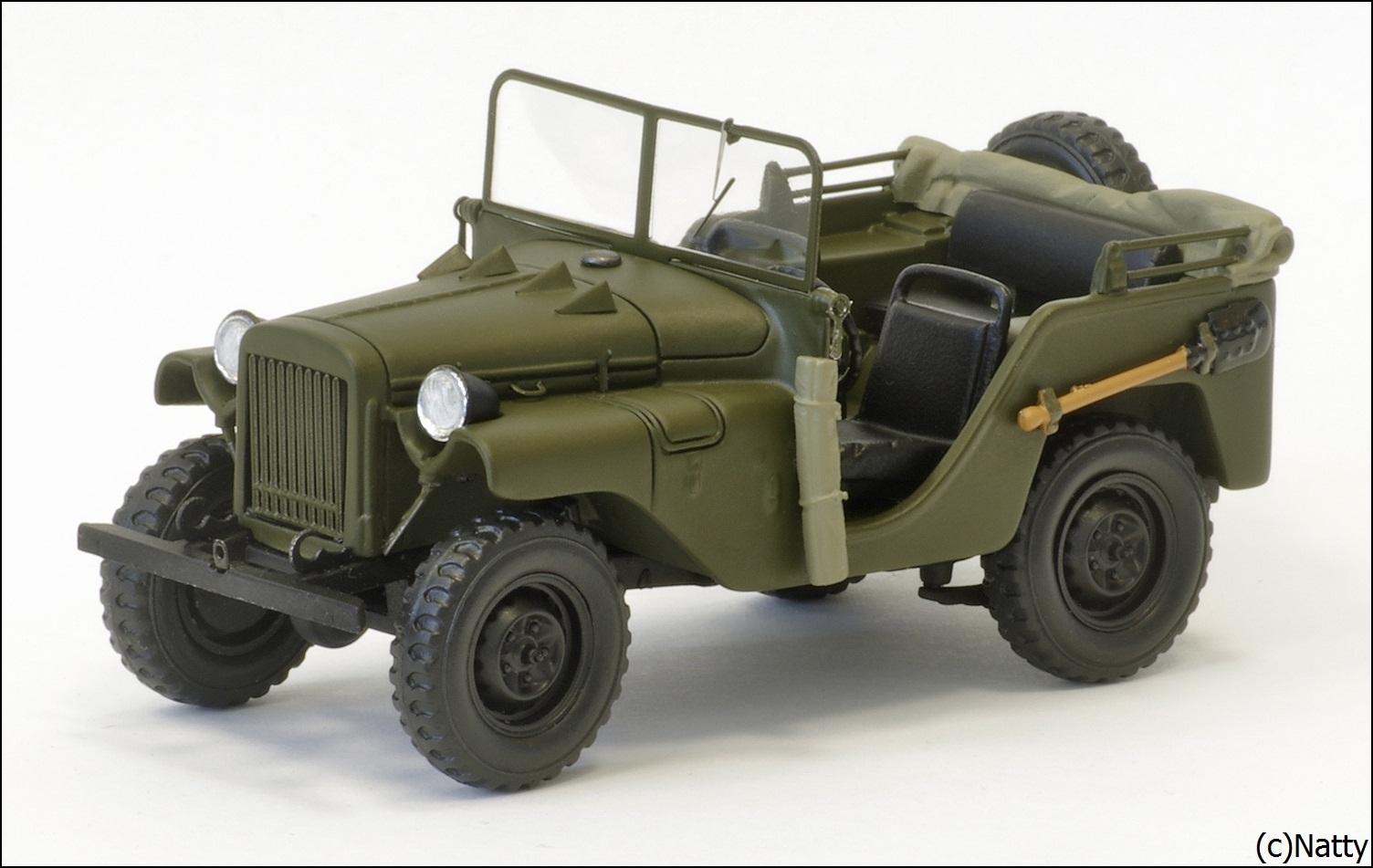 List Of Car Brands >> DiP Models: 1941 GAZ-64 - Green (106401) in 1:43 scale ...