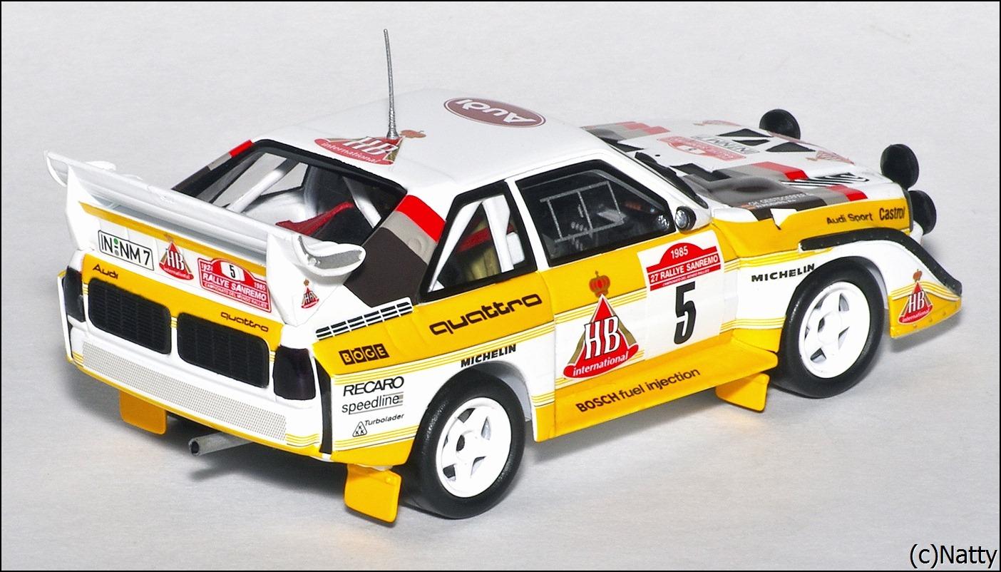 minichamps 1985 audi sport quattro s1 rallye san remo white 503 0500803 in 1 43 scale. Black Bedroom Furniture Sets. Home Design Ideas