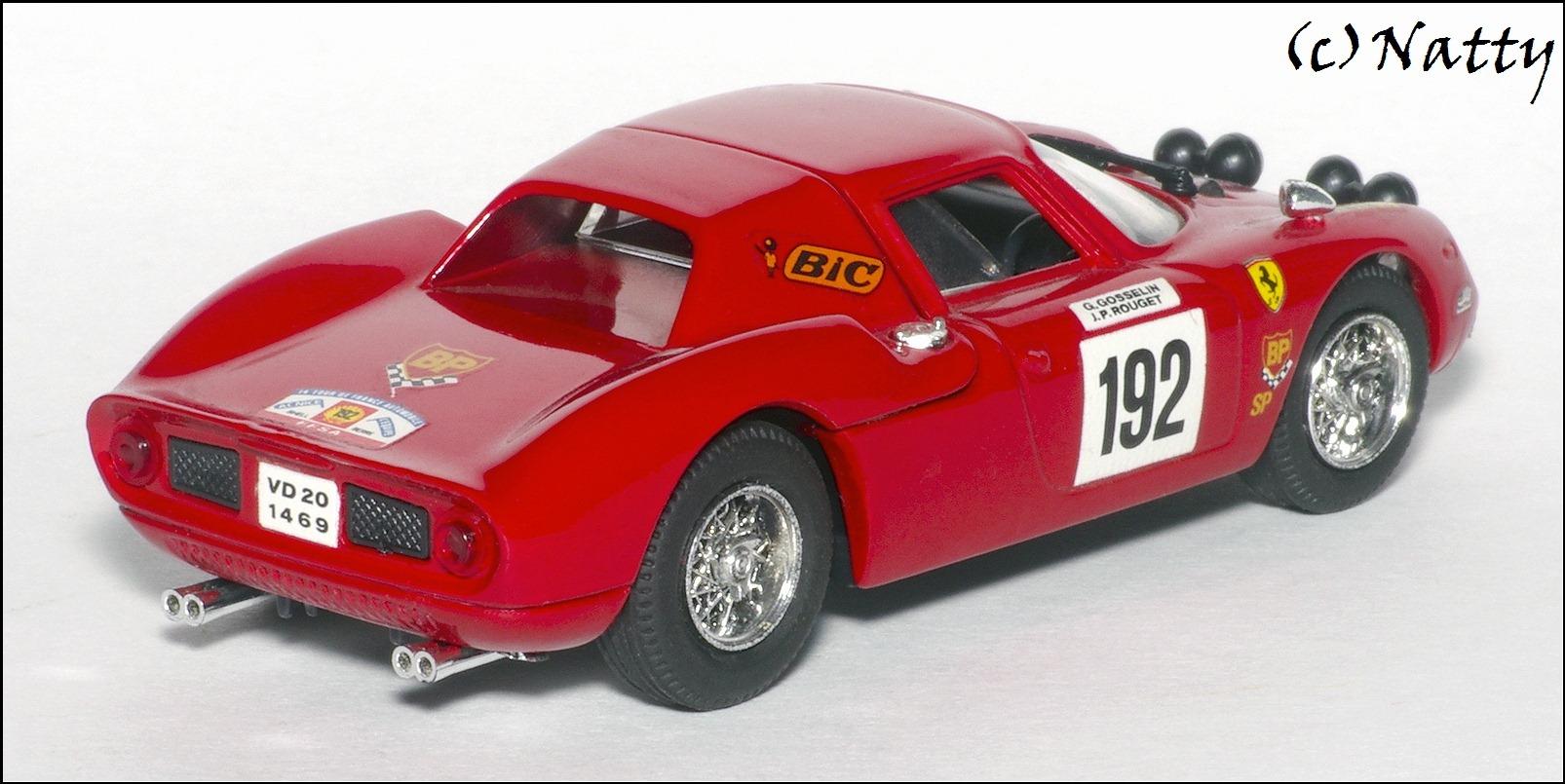 best model 1969 ferrari 250 lm tour de france red. Black Bedroom Furniture Sets. Home Design Ideas