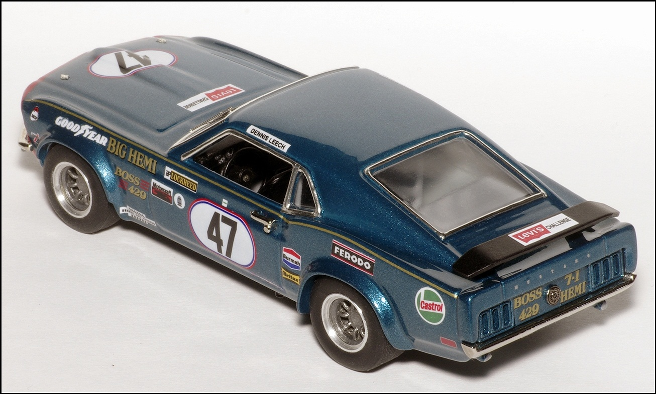 SMTS: 1973 Ford Mustang Boss429 - Blue (SMTS313) in 1:43 scale ...