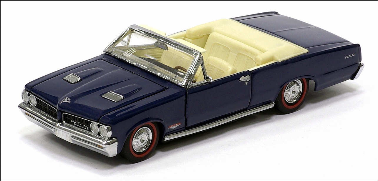 Franklin Mint 1964 Pontiac Lemans Gto Convertible Dark Blue Ri Dodge D100 Wiring Diagram 06 In