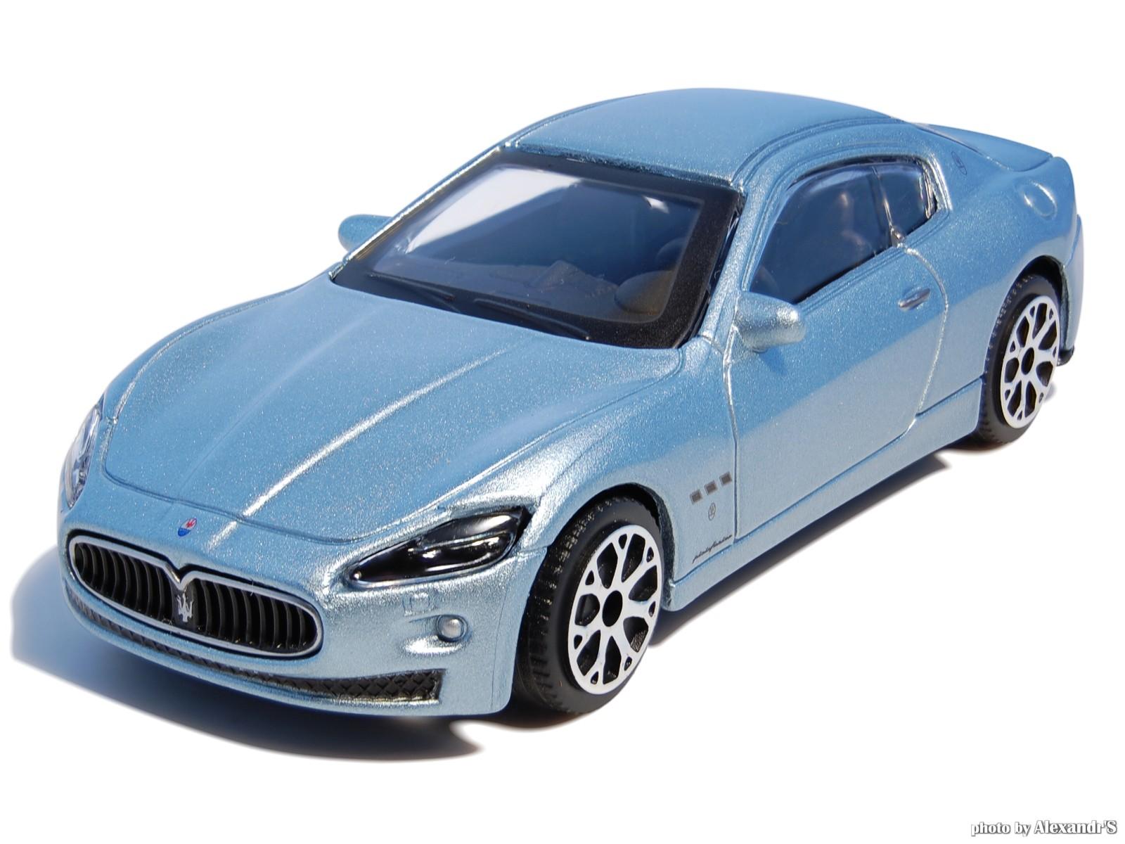 Bburago: 2007 Maserati Gran