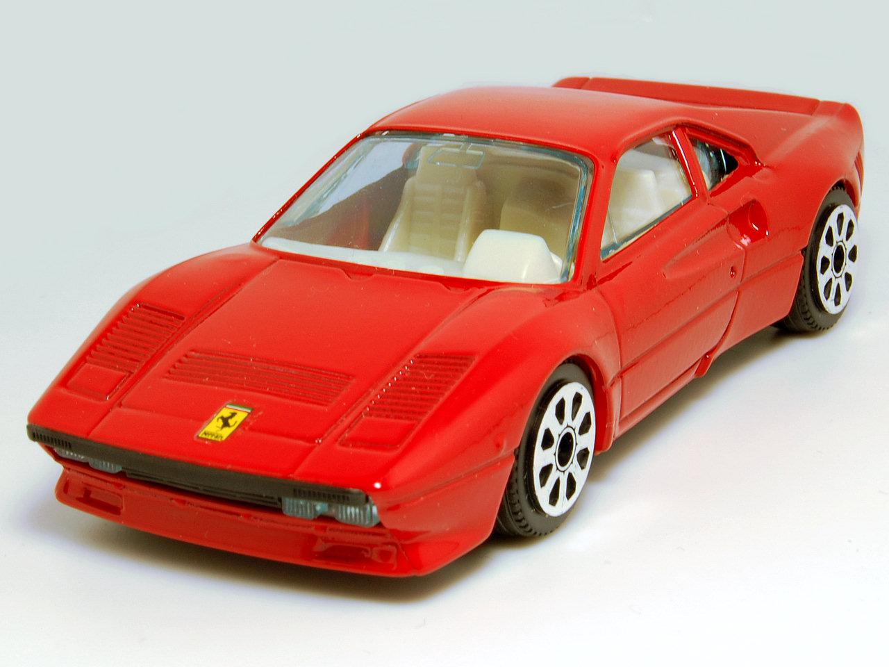 Bburago 1984 Ferrari 288 Gto Rally Red 4107 In 1 43