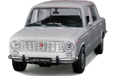 De Agostini: 1970 VAZ 2101 - White (DeA025(rus)) in 1:43 scale