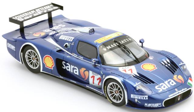 BBR Models: 2007 Maserati MC12 GT FIA Italia 'Playteam' (P1807) im 1:18 maßstab . Picture provided by Alex, 2010-01-26 10:13:26