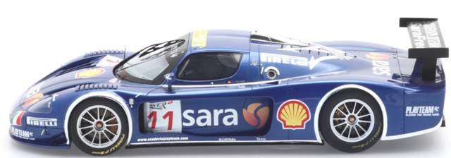 BBR Models: 2007 Maserati MC12 GT FIA Italia 'Playteam' (P1807) im 1:18 maßstab . Picture provided by Alex, 2010-01-26 10:13:39